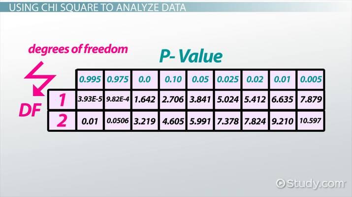 Chi Square: Definition & Analysis - Video & Lesson Transcript