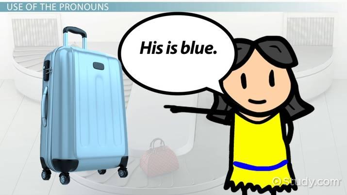 Possessive Pronouns in Spanish - Video & Lesson Transcript