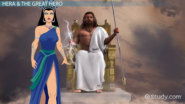 The Greek Goddess Hera Stories Overview