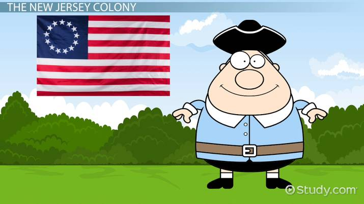New Jersey Colony Lesson for Kids: Facts & History on