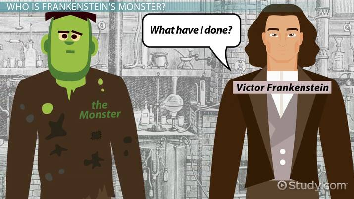 Who Is The Monster In Frankenstein Character Traits Analysis