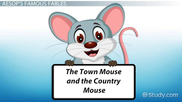 Fables Lesson for Kids: Definition & Examples - Video & Lesson