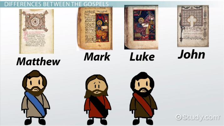 History Synopsis Of The Four Gospels Video Lesson