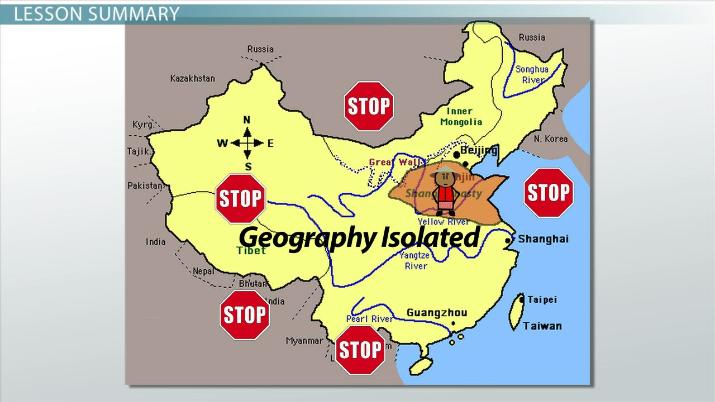 map of ancient china worksheet How Geography Isolated Ancient China Video Lesson Transcript map of ancient china worksheet