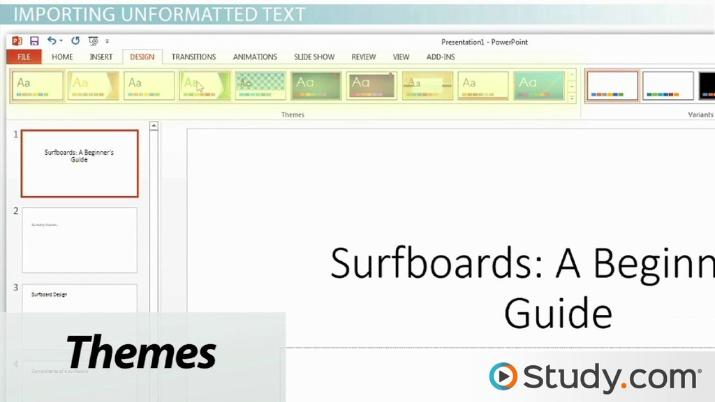 How To Import Text Files Into Your Powerpoint Presentation