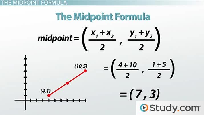1 3 midpoint formula examples youtube.
