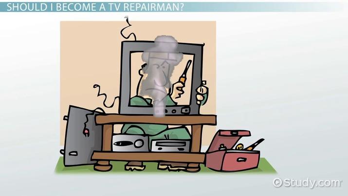become a tv repairman education and career roadmap