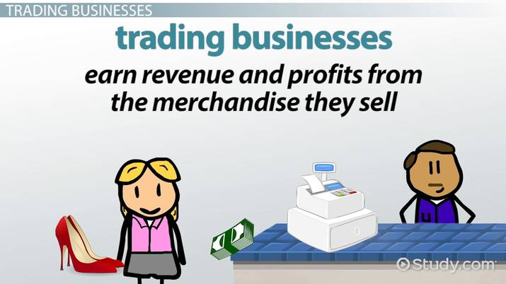 Service & Trading Businesses: Definitions & Examples - Video