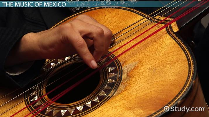 Mexican Music: Genres & Artists - Video & Lesson Transcript