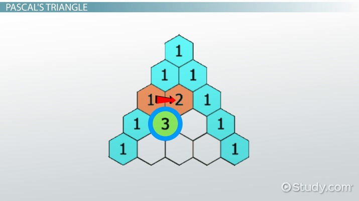 Pascal's Triangle Patterns History Video Lesson Transcript Cool Pascal Triangle Patterns