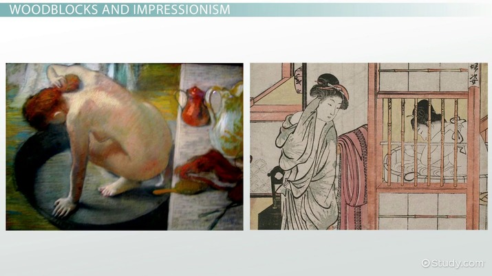Influence of Japanese Woodblock Printing on Impressionists