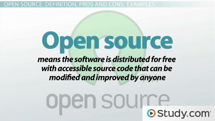 intellectual property and open source software issues and concerns