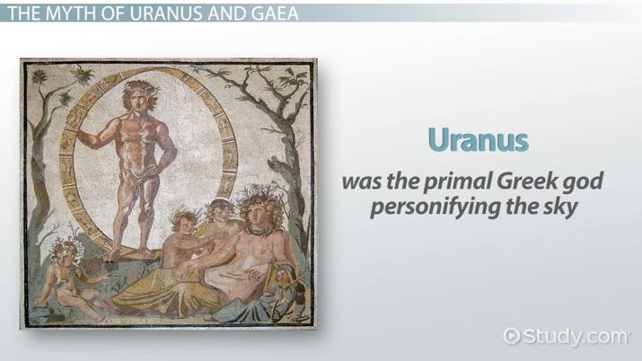 The Greek God Uranus (Ouranos): Facts & Symbol - Video