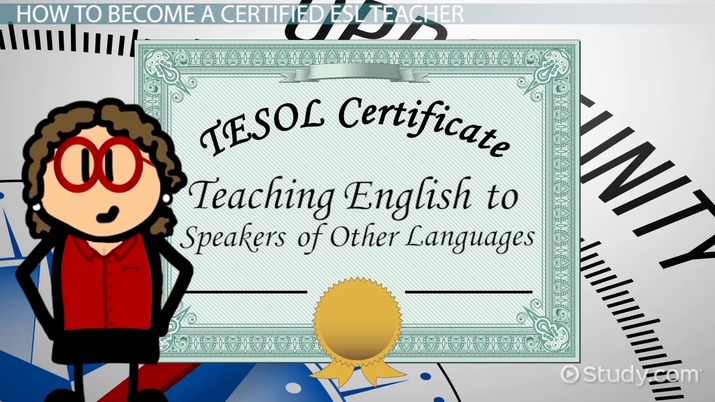 How to Become a Certified ESL Teacher