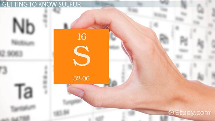 What is Sulfur? - Definition, Facts & Uses