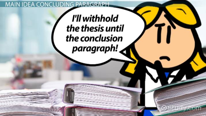 how to write a conclusion paragraph example