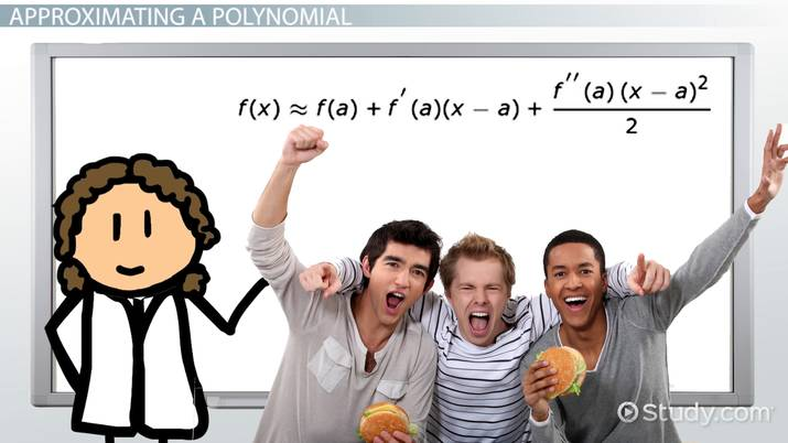 Taylor Series, Coefficients & Polynomials: Definition, Equations & Examples