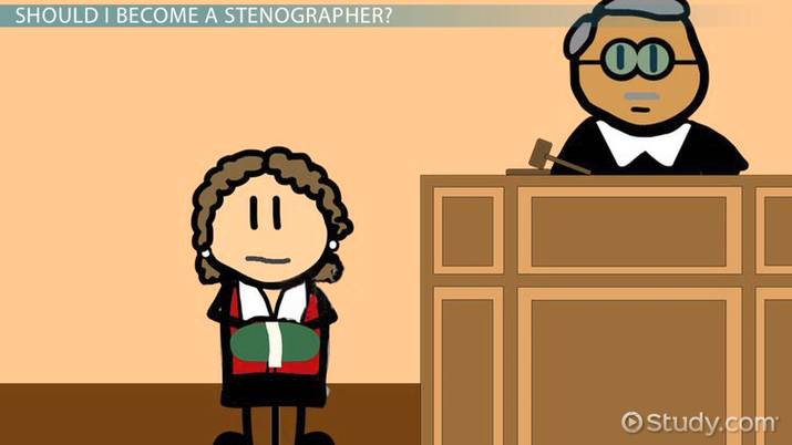 Become A Stenographer