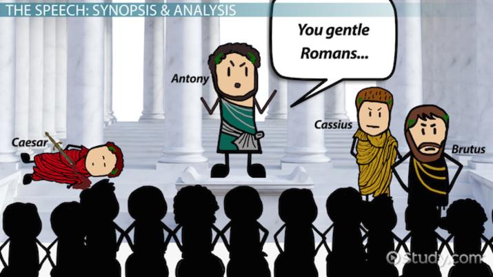 Rhetorical Ysis Template | Julius Caesar S Antony Speech Analysis