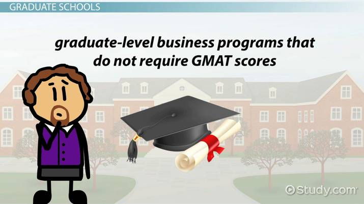 Graduate Schools Without a GMAT Requirement: Program Overviews
