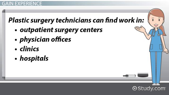 Become a Plastic Surgery Technician: Education and Career Roadmap
