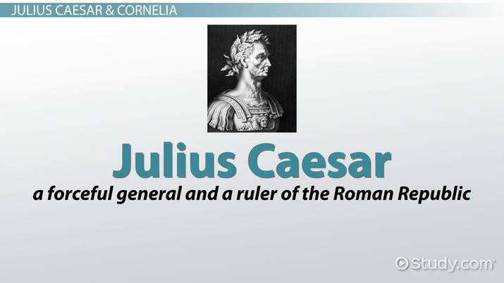 characteristic of julius caesar