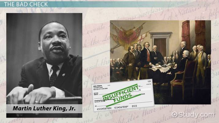 Personification In King S I Have A Dream Speech Video Lesson