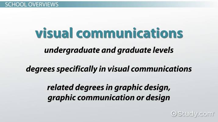 Top 10 Schools For Visual Communication