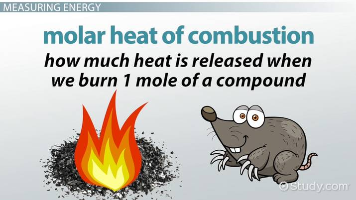 Molar Heat of Combustion: Definition & Calculations - Video