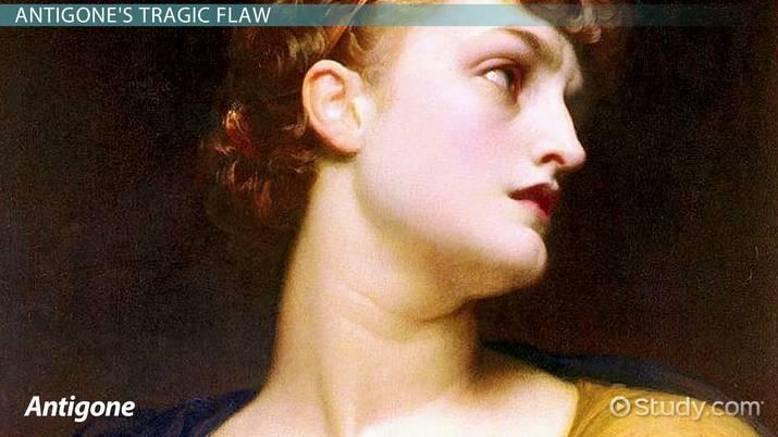 what is antigones tragic flaw