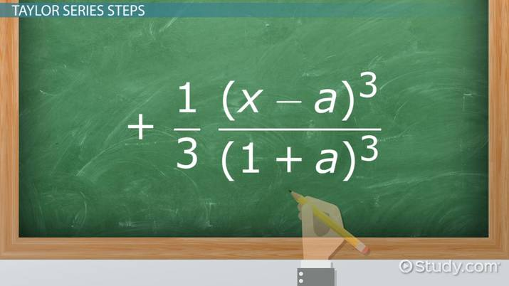 Taylor Series for ln(1+x): How-to & Steps - Video & Lesson