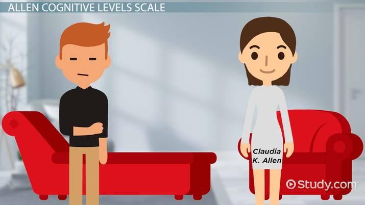 Allen Cognitive Levels: Scale & Description - Video & Lesson