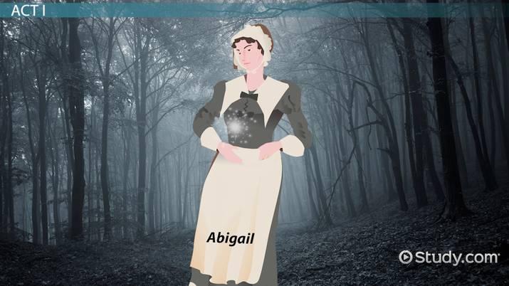 Abigail Williams In The Crucible Video Lesson Transcript