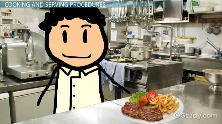 Food Preparation: Hygiene & Safety - Video & Lesson