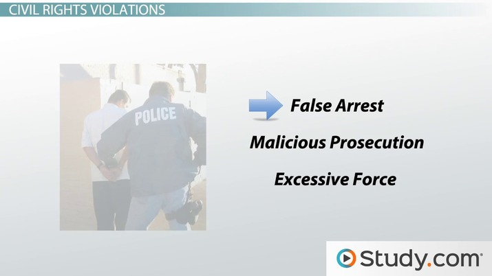 Legal Issues Facing Police: Civil Liabilities & Lawsuits
