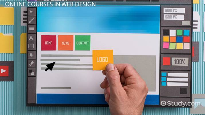 Computer Web Design Courses Online With School Options