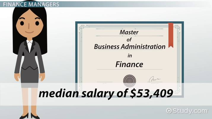 Careers with an MBA in Finance: Career Options and Salary Info
