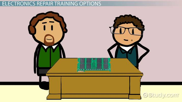 learn electronics repair to start a new career
