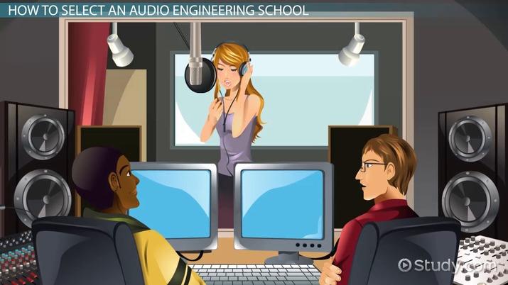 Audio Engineering Schools and Universities in the U.S.