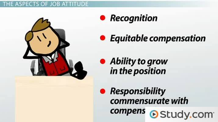 Major Job Attitudes: Satisfaction, Commitment, Engagement U0026 More   Video U0026  Lesson Transcript | Study.com