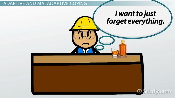 Maladaptive Coping Strategies Definition Examples Video