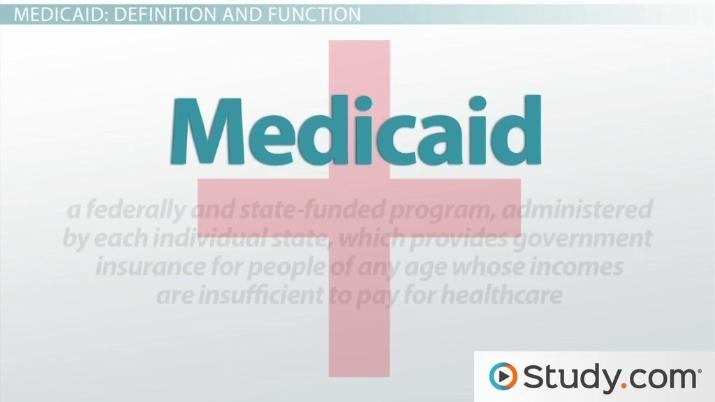 Medicare and Medicaid: Definitions