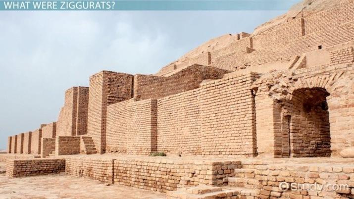 a ziggurat was built to