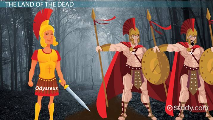 The Odyssey Book 11 Summary & Quotes