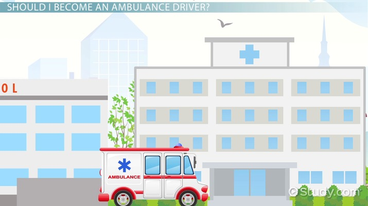 how to become an ambulance driver step by step career guide