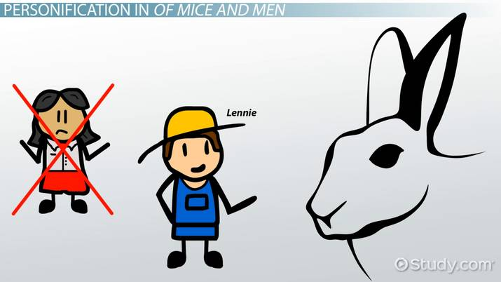 Personification in Of Mice and Men