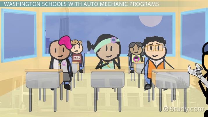 Auto Mechanic Schools In Washington With Program Information