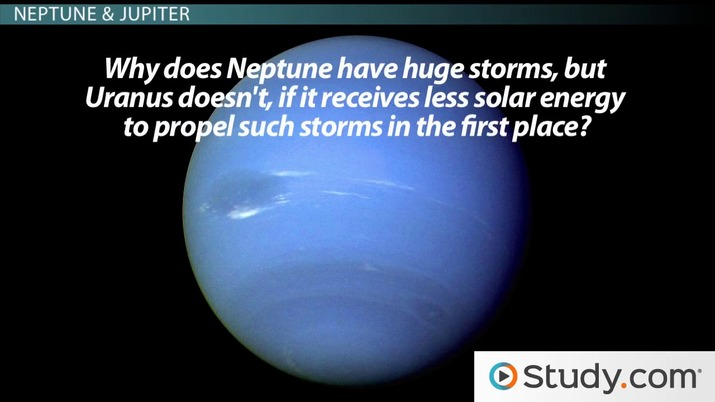 Neptune's Moons, Rings, Atmosphere & Temperature - Video & Lesson