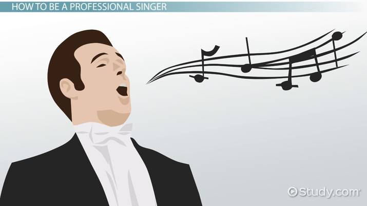 become a professional singer education and career roadmap