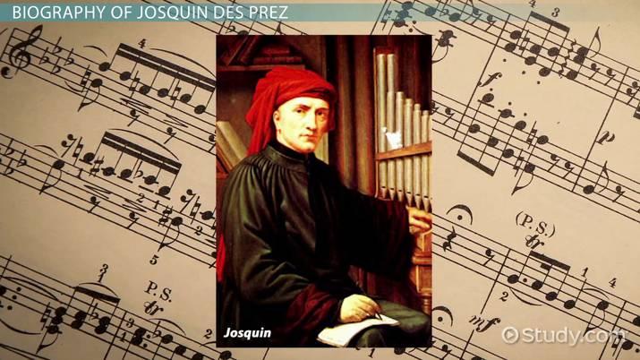Josquin De Prez Biography Music Humanitie Clas Video Study Com Paraphrase Mas